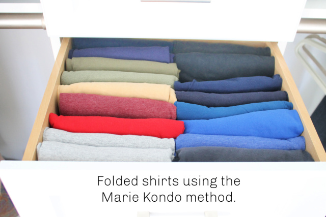 Tidying Clothes - Tidying Up Our House with Marie Kondo