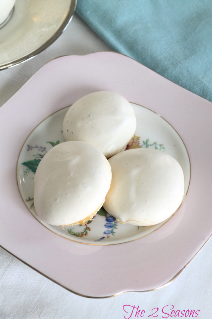 French meringues - The 2 Seasons