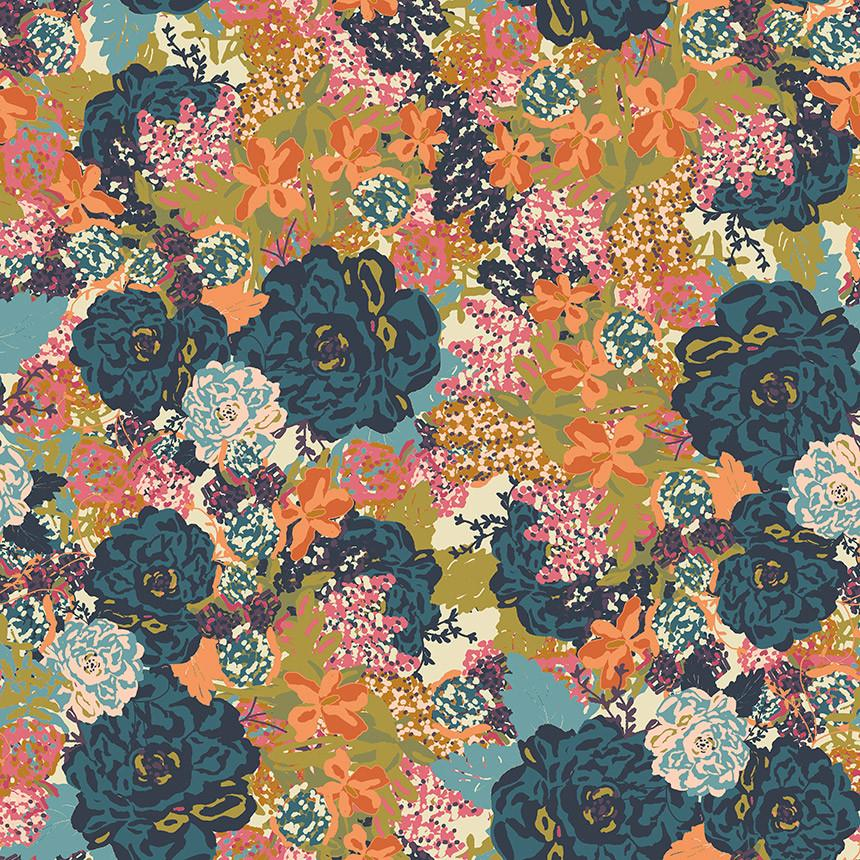 english flower garden floral removable wallpaper patternZoom 900x - Thursday Thoughts