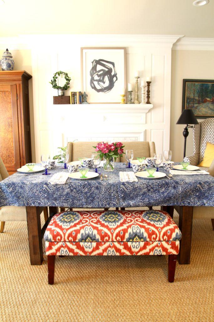 IMG 5361 683x1024 - A Springtime Brunch Table Setting
