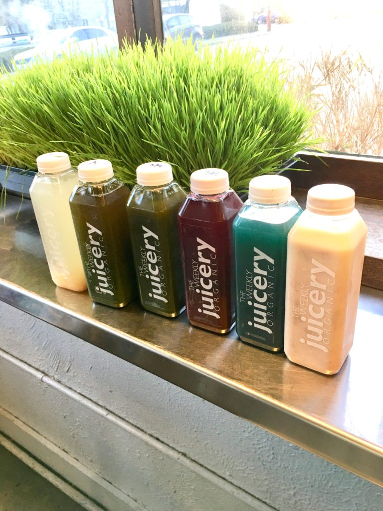 Our juice cleanse - The 2 Seasons
