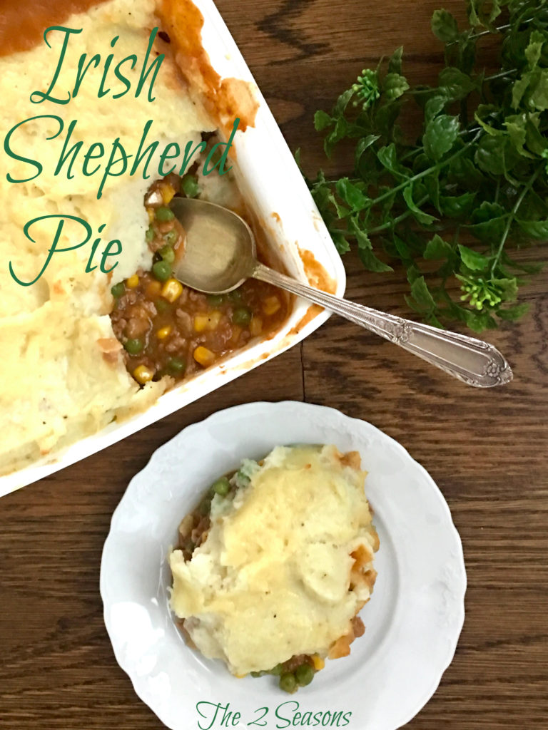Irish Shepherd Pie - The 2 Seasons
