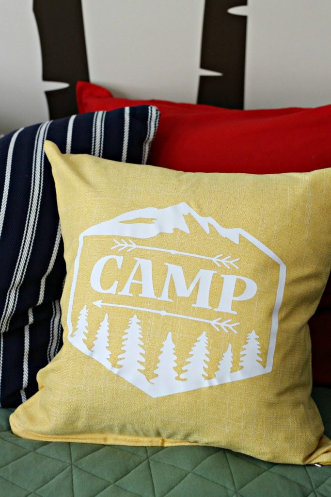 Room 3 683x1024 - Toddler Boy's Camping Themed Bedroom