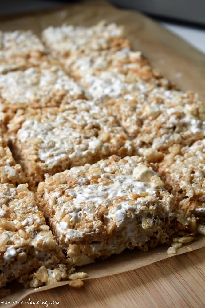 fluffernutter rice krispie treats 1 16 - The Seasons' Saturday Selections