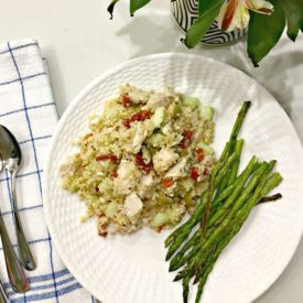 Chicken Couscous Salad - The 2 Seasons