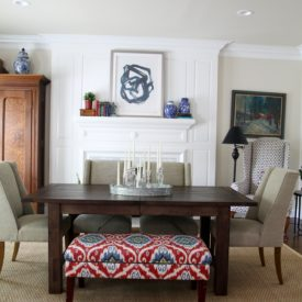 Dining room for summer - The 2 Seasons