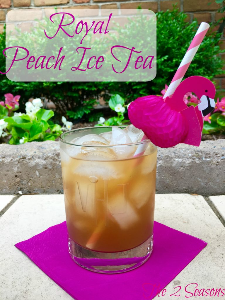 Royal Peach Tea - The 2 Seasons