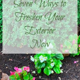 Exterior Refresh 275x275 - 7 Easy Ways to Freshen Your Home's Exterior Now