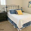 Guest room dresser 8 120x120 - DIY Bed Skirt Using Dental Floss
