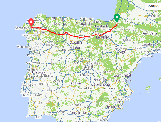 Screen Shot 2019 07 22 at 8.31.49 AM - Our Next Big Trip - El Camino de Santiago
