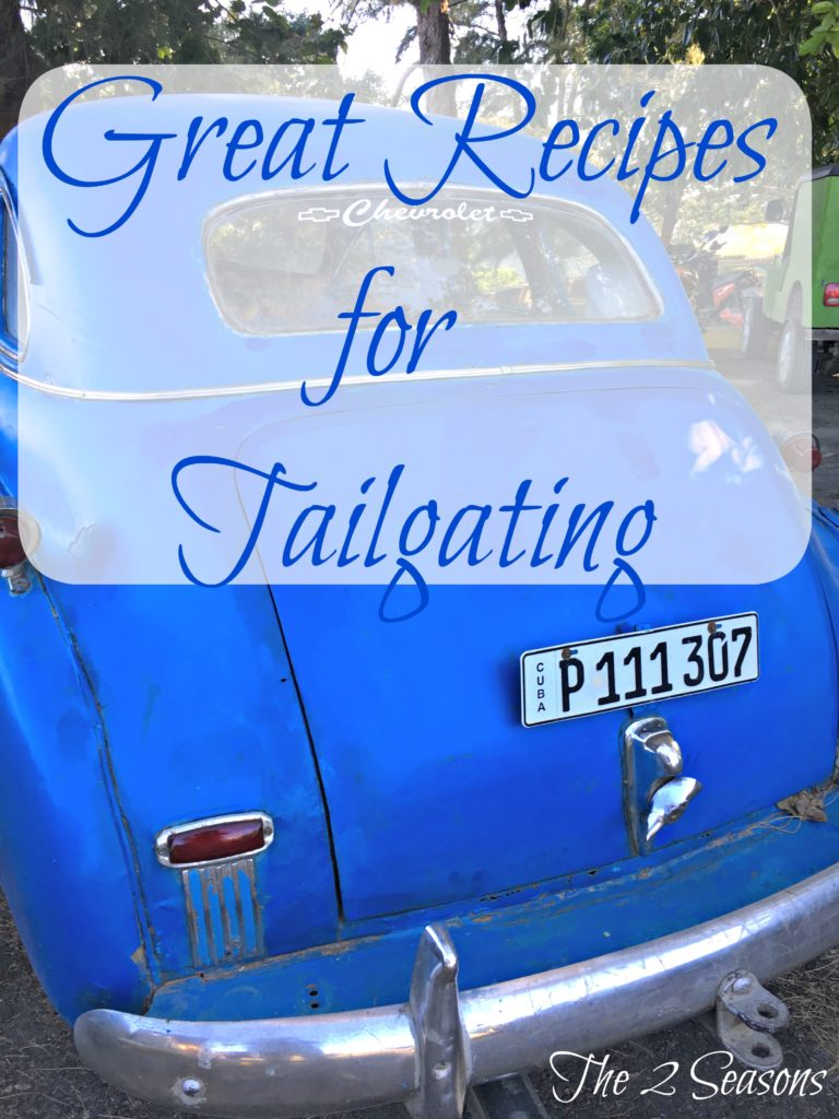 Great Recipes for Tailgating1 768x1024 - Great Tailgating Recipes