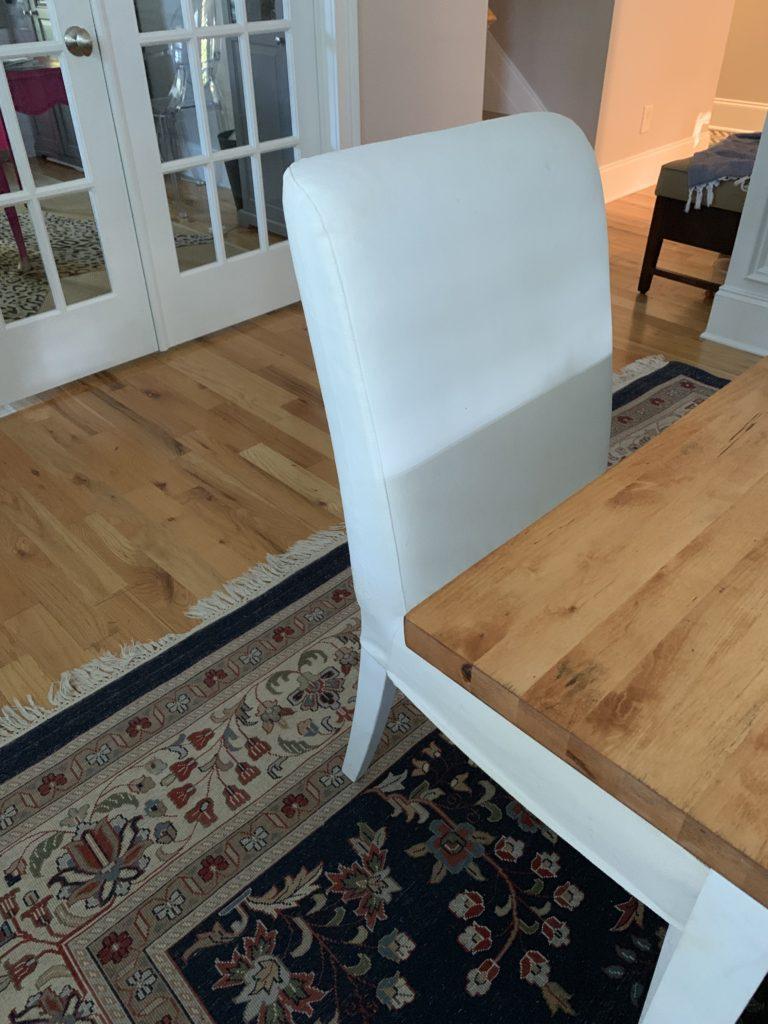 IMG 6212 768x1024 - Jordan's Dining Room Got New Chairs