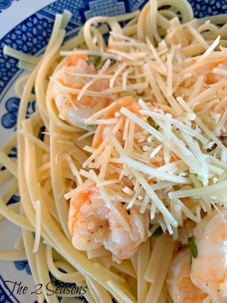 Shrimp Scampi 1 768x1024 - Shrimp Scampi with Pasta