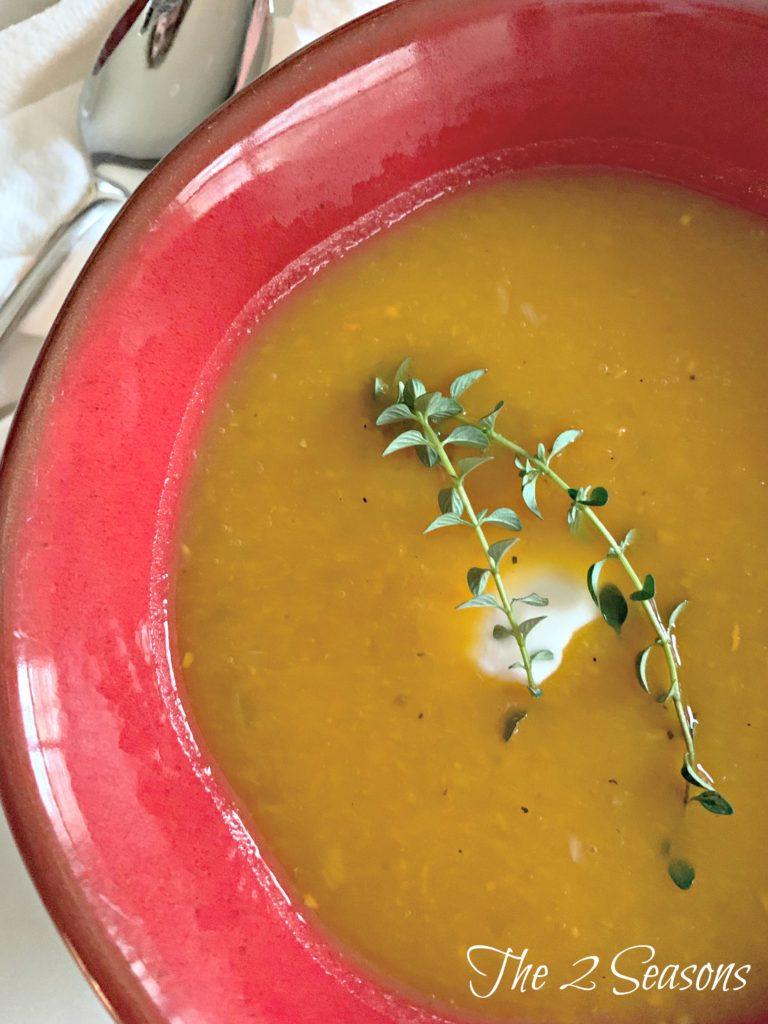 Butternut Squash Soup 2 768x1024 - Butternut Squash Soup