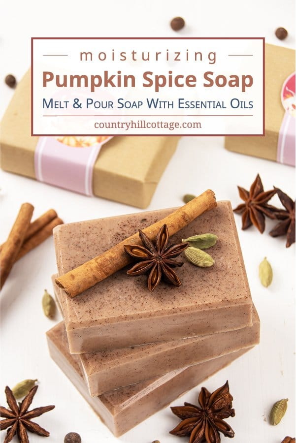DIY Pumpkin Spice Soap Easy Fall Melt and Pour Soap Recipe 22 - The Seasons' Saturday Selections