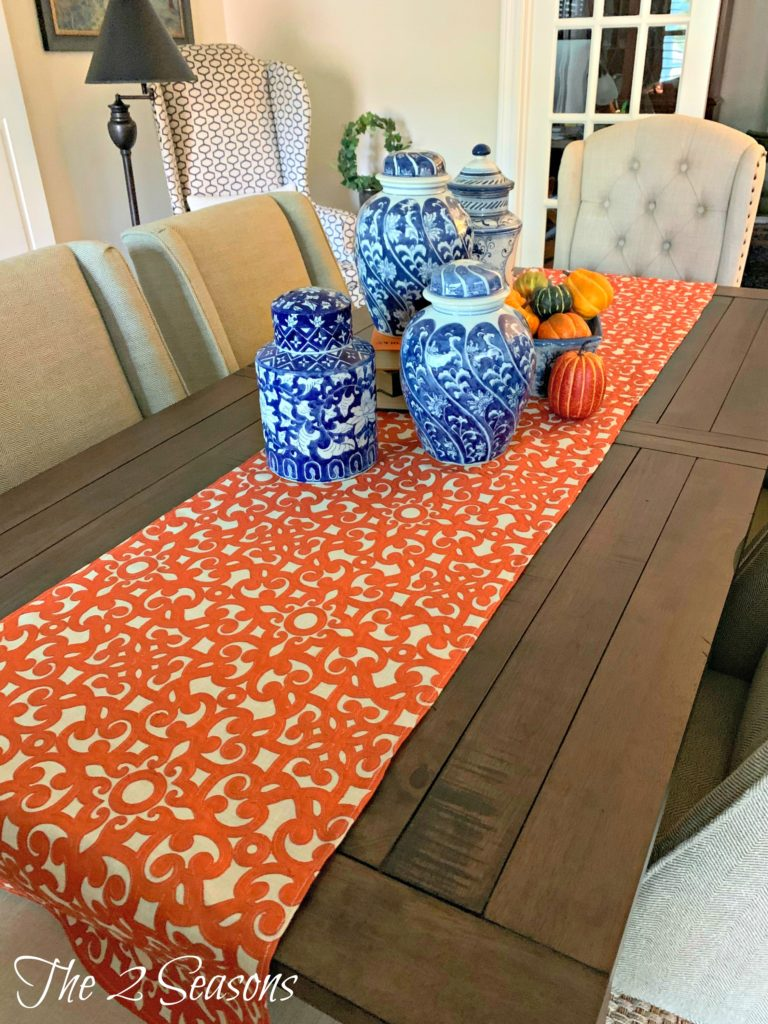 Dining Table Runner 768x1024 - DIY Fall Table Runner