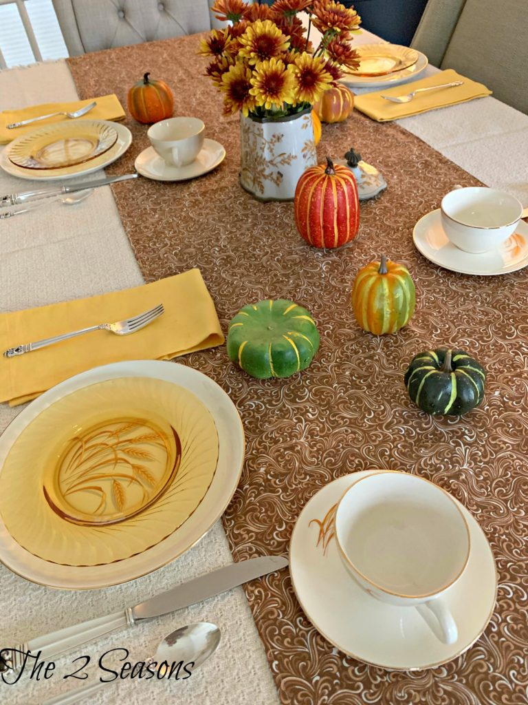 Fall Wheat Table 7 768x1024 - A Fall Table Setting