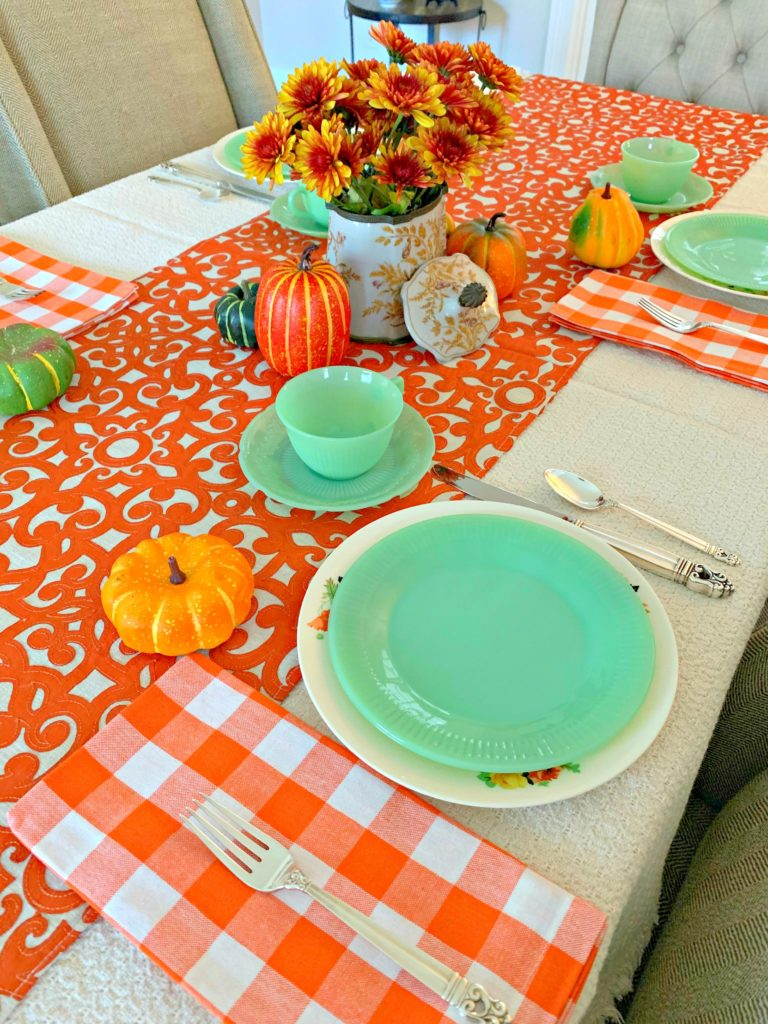 Fall tablescape 1 768x1024 - Another Fall Tablescape