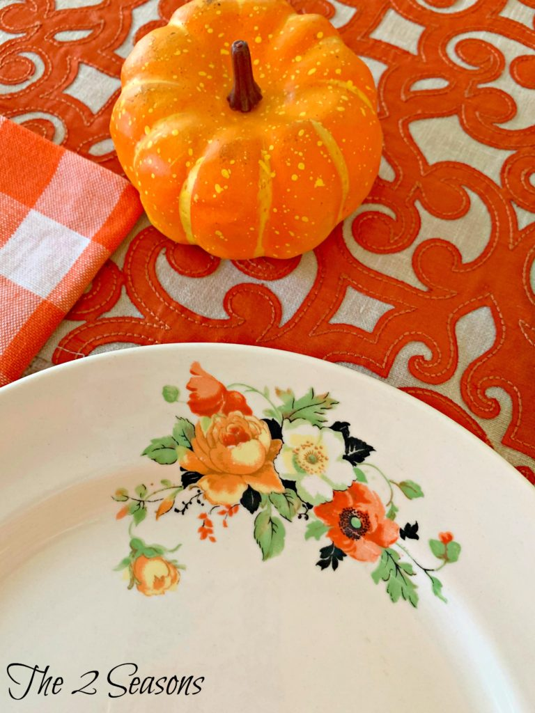 Fall tablescape 3 768x1024 - Another Fall Tablescape