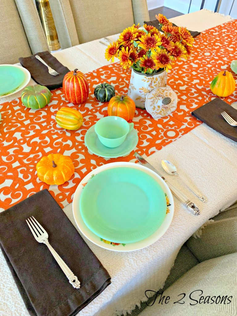 Fall tablescape 8 768x1024 - Another Fall Tablescape