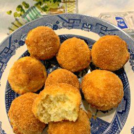 Mini applesauce muffins 2 275x275 - Bite Size Applesauce Muffins