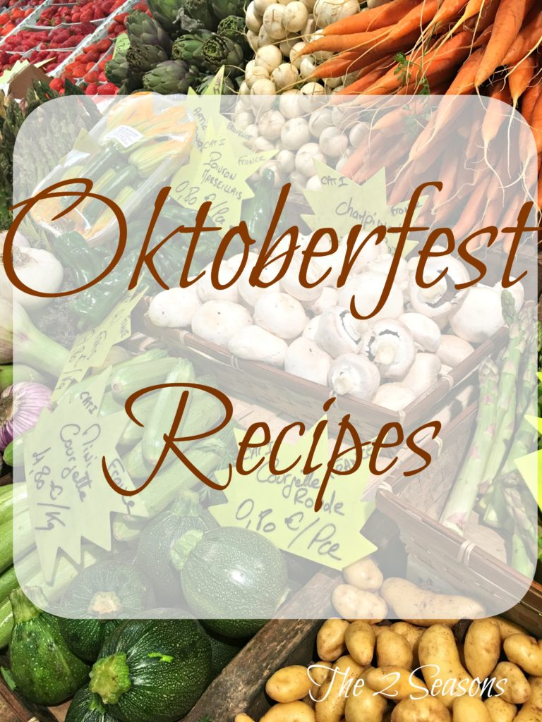 Oktoberfest recipes 768x1024 - Your Oktoberfest Menu