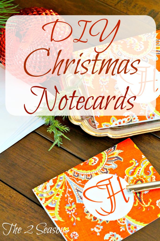 DIY20Christmas20Notecards 682x1024 - Make Your Own Christmas Note Cards