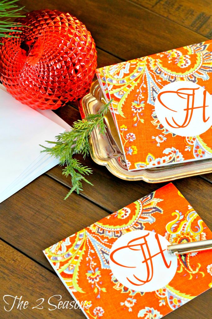 DIY20Notecards 682x1024 - Make Your Own Christmas Note Cards