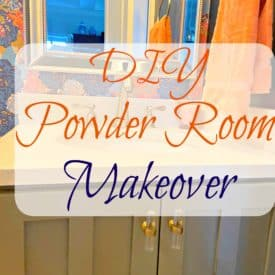 Jordans powder room makeover 7 275x275 - Jordan's Powder Room Makeover