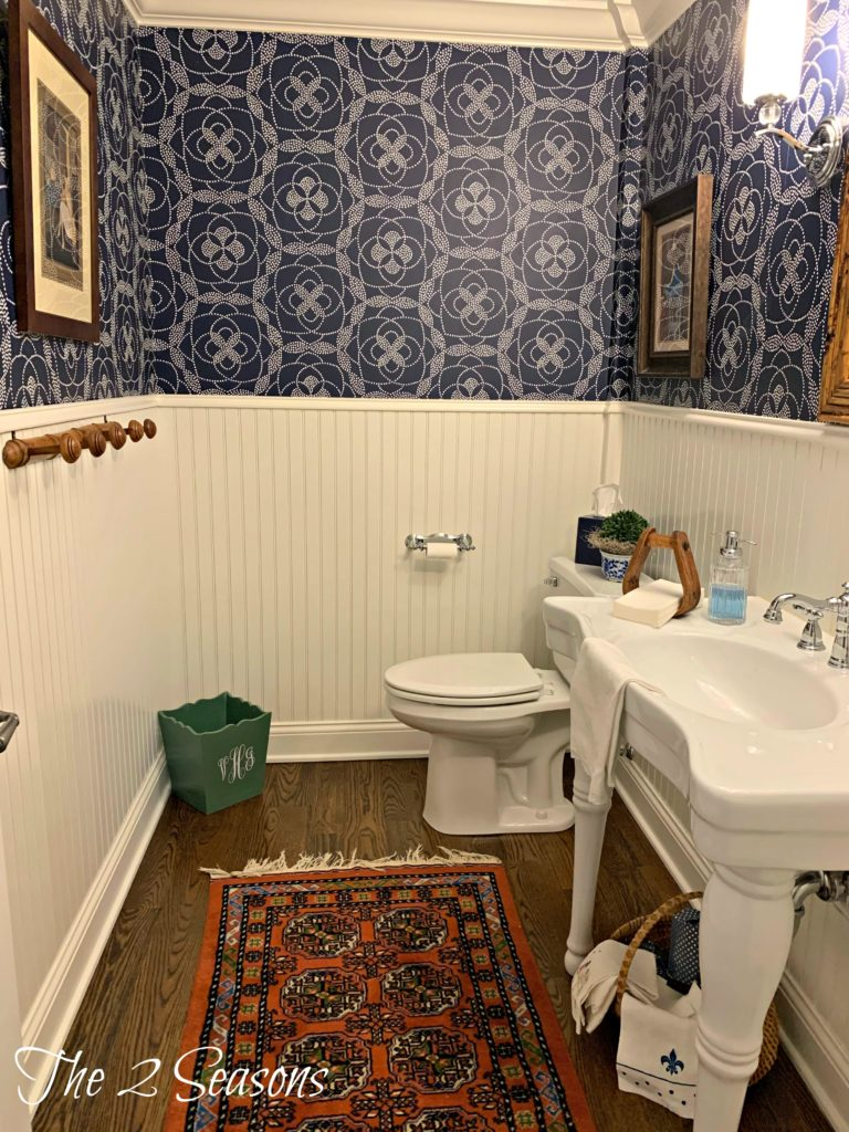 Powder room upgrades 5 768x1024 - House Tours