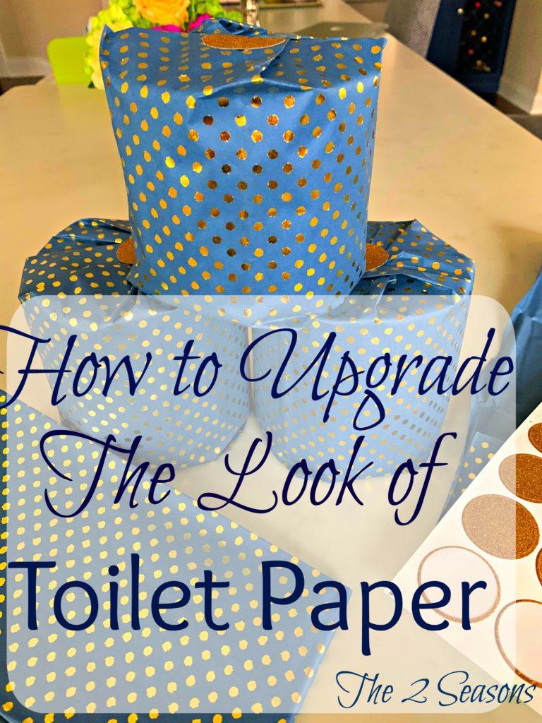 Toilet paper upgrade 9 768x1024 - Simple DIY Toilet Paper Upgrade