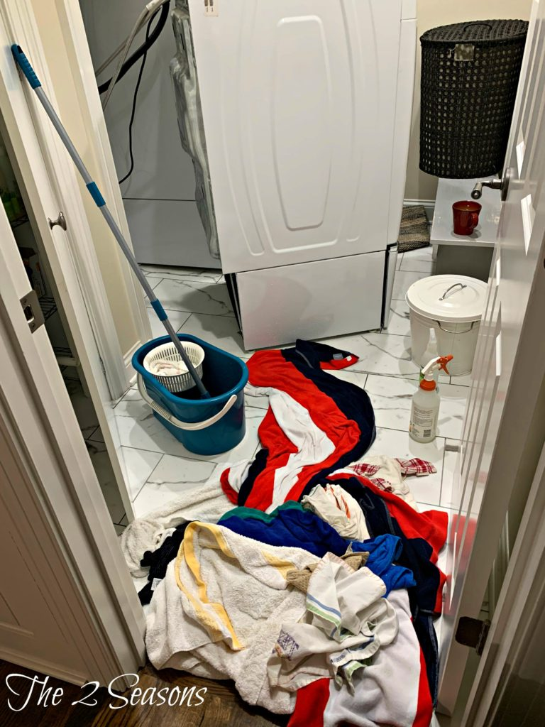 Water damage 5 768x1024 - We Woke to the Sound of Our Smoke Detectors