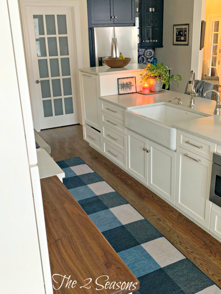 Kitchen Ruggable runner 2 768x1024 - Our Kitchen's New Ruggable Rug
