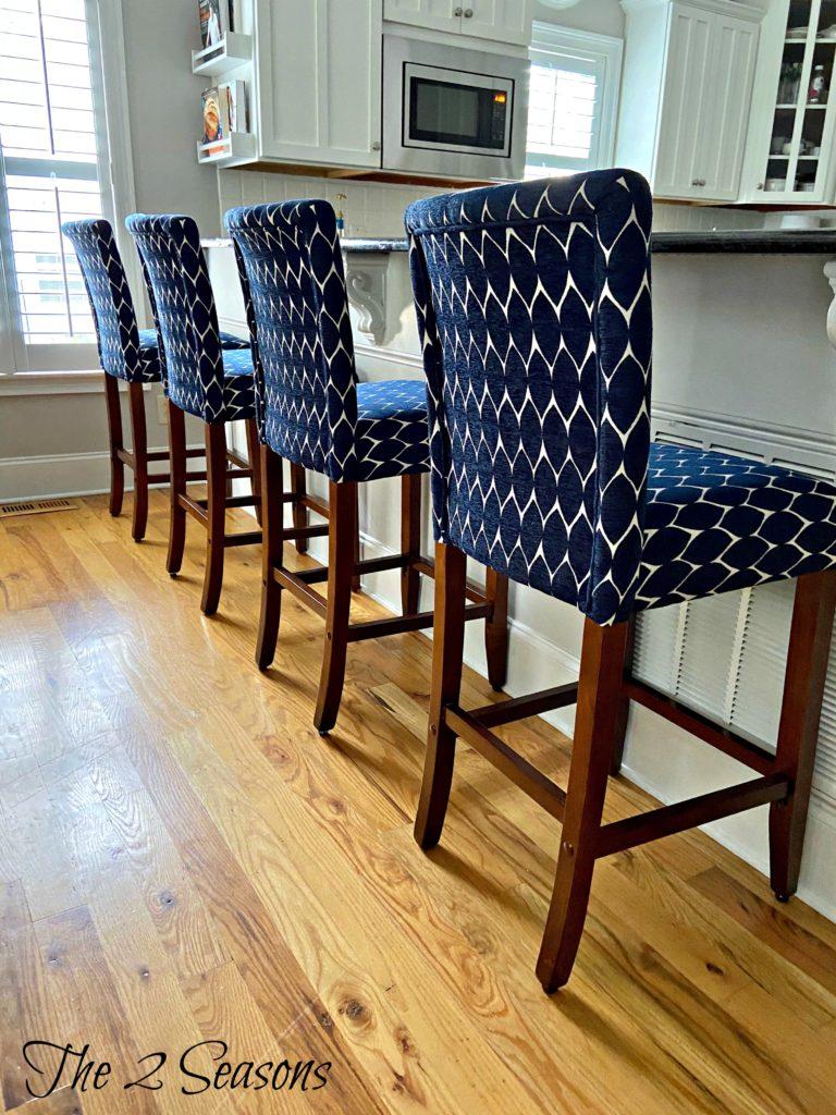 Kitchen stools Jordan 1 768x1024 - Our New Kitchen Stools