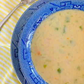 Creamy cauliflower soup1 275x275 - Cream of Cauliflower Soup