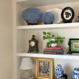 Dining room shelves 32 275x275 - Tips for Refreshing Your Dining Room Shelves