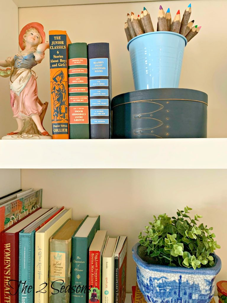 Dining room shelves 92 768x1024 - Tips for Refreshing Your Dining Room Shelves