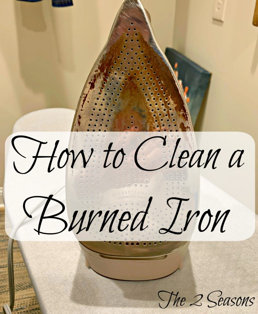 How to Clean a Burned iron 2 841x1024 - How to Clean a Burned Iron