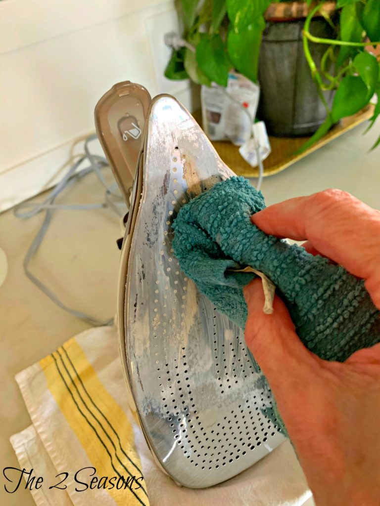 How to clean a burned iron 3 768x1024 - How to Clean a Burned Iron