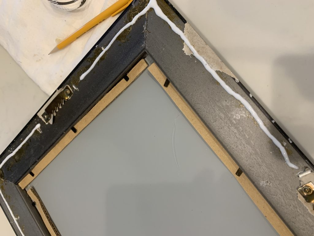 IMG 7901 1024x768 - How to Update a Framed Mirror