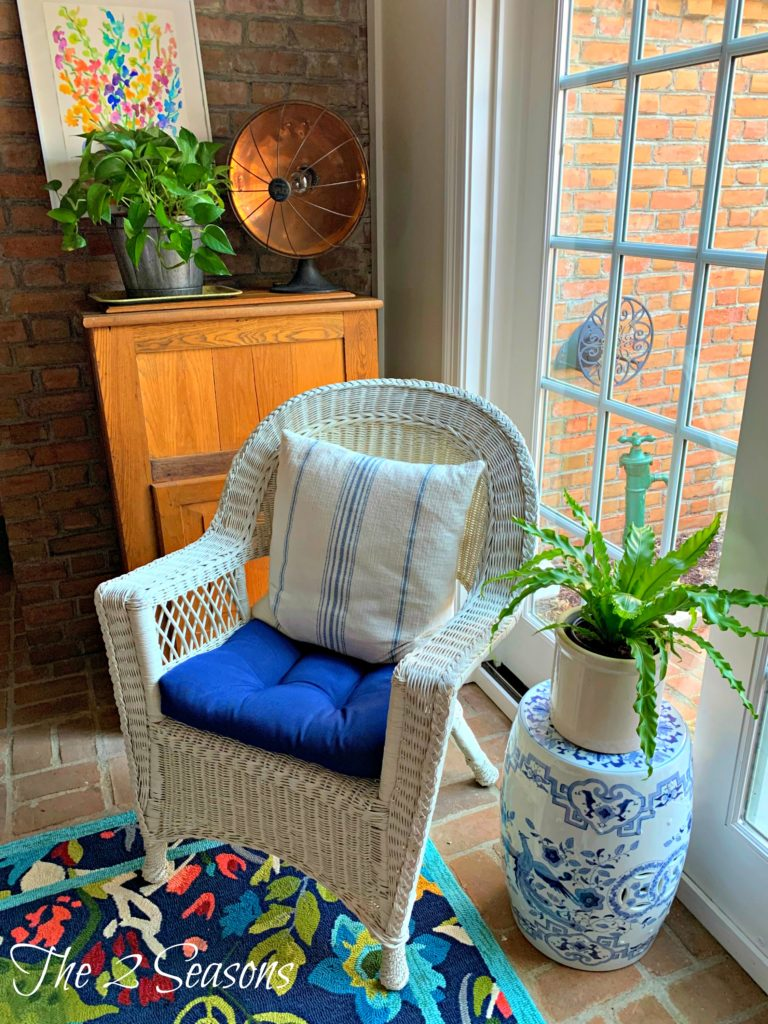 Spring porch 768x1024 - Our Spring Porch