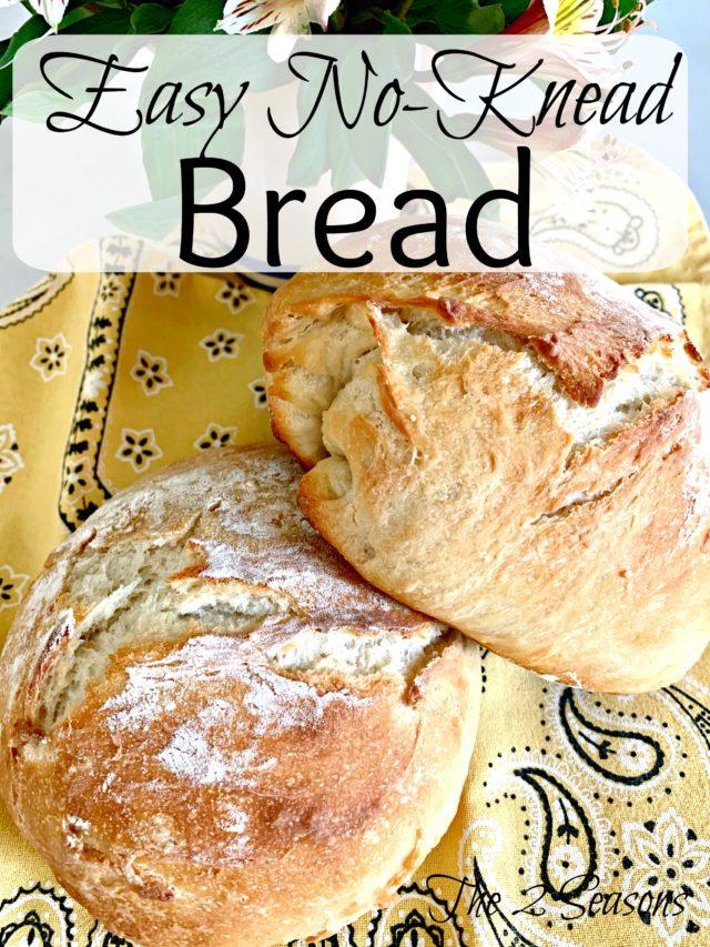 Easy No Knead Bread 640x853 - Easy No-Knead Bread