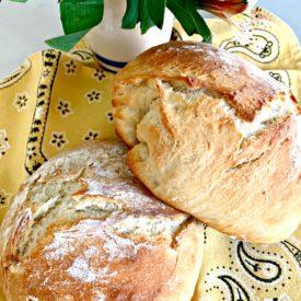 Easy no knead bread 275x275 - Easy No-Knead Bread