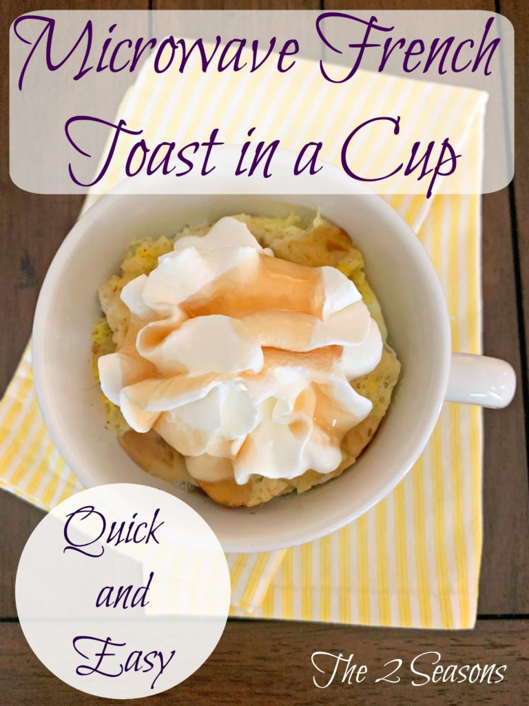 French toast cup 5 768x1024 - Microwave French Toast in a Cup