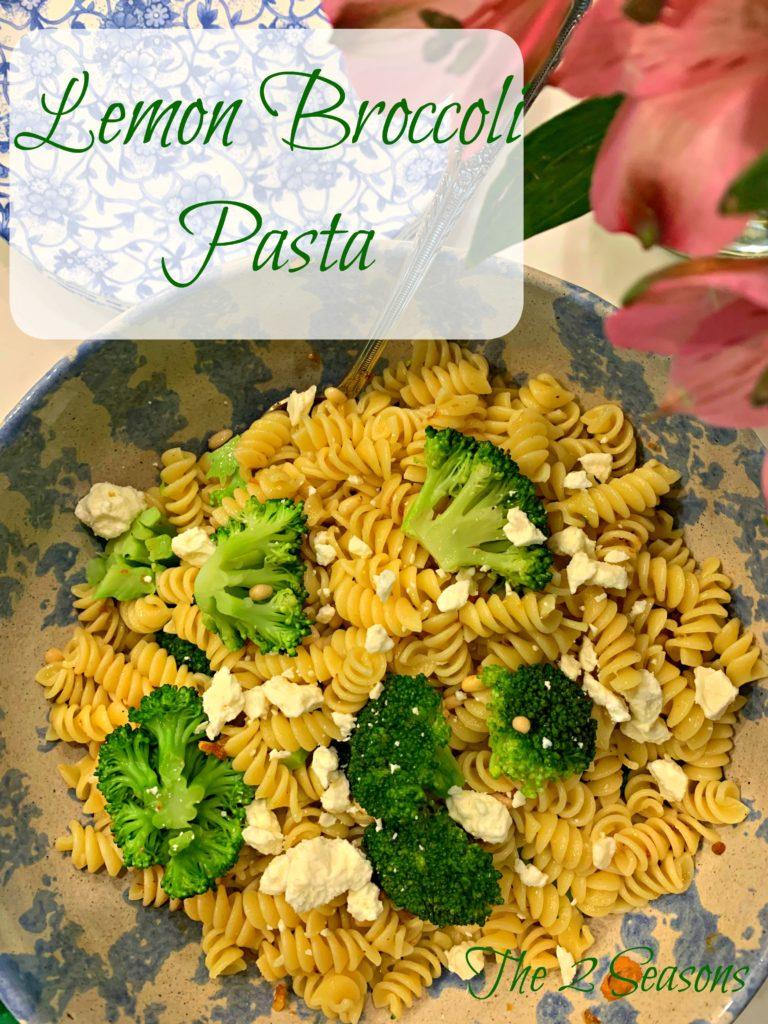 Lemon broccoli pasta 768x1024 - Lemon Broccoli Pasta