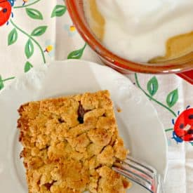 Peanut butter and jelly bars1 275x275 - Peanut Butter and Jelly Bars