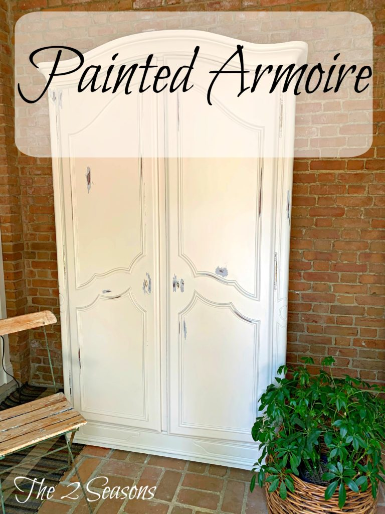 Painted armoire 1 1 768x1024 - I Painted the Armoire