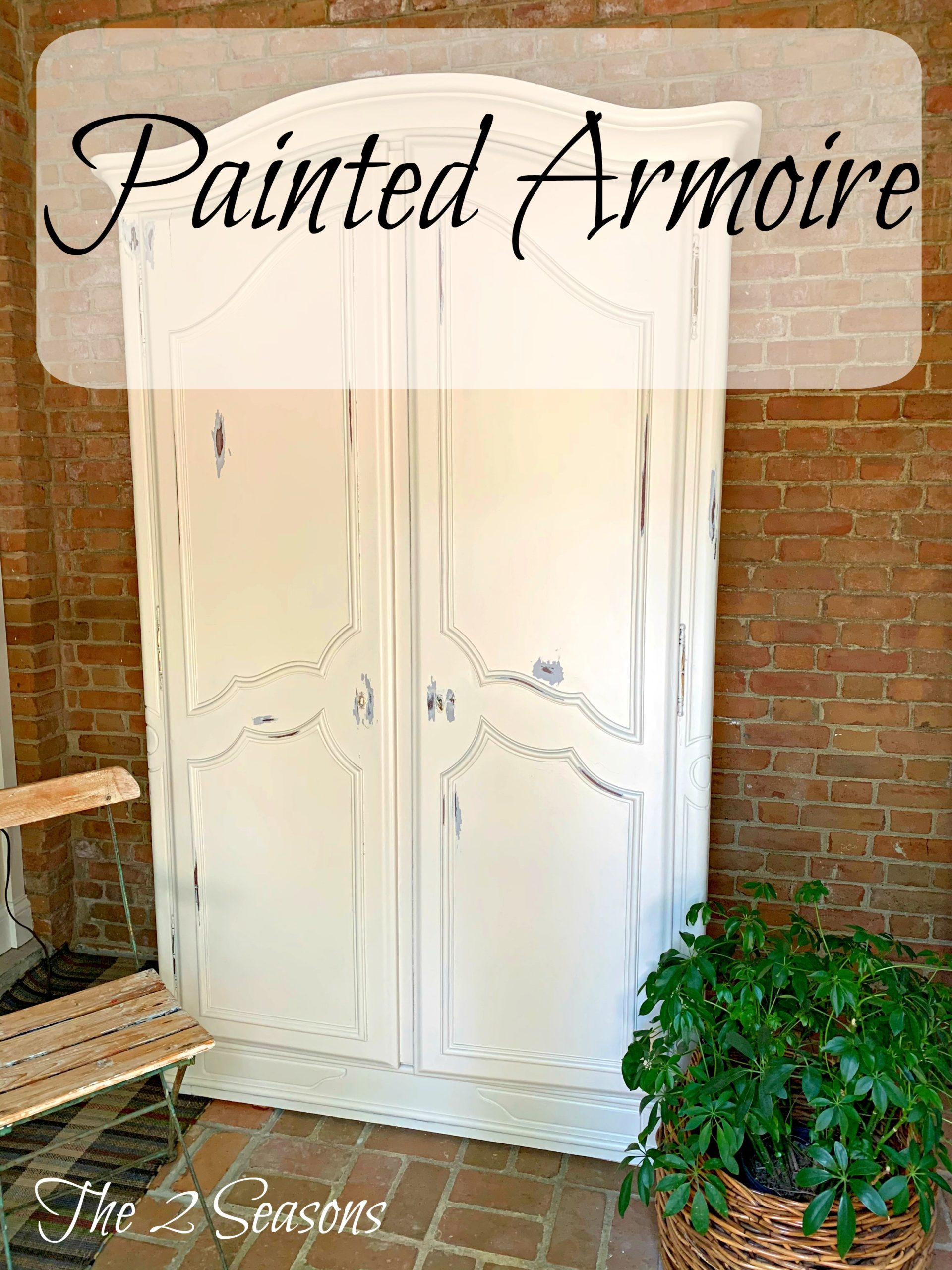 Painted armoire 1 1 scaled - I Painted the Armoire